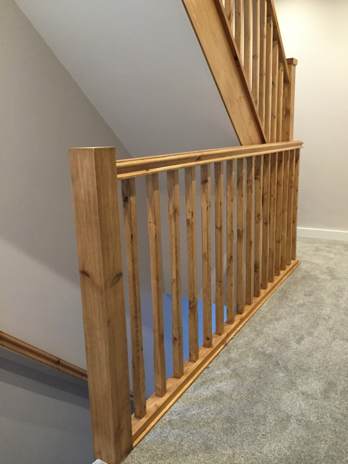 Crosby loft conversion stairs
