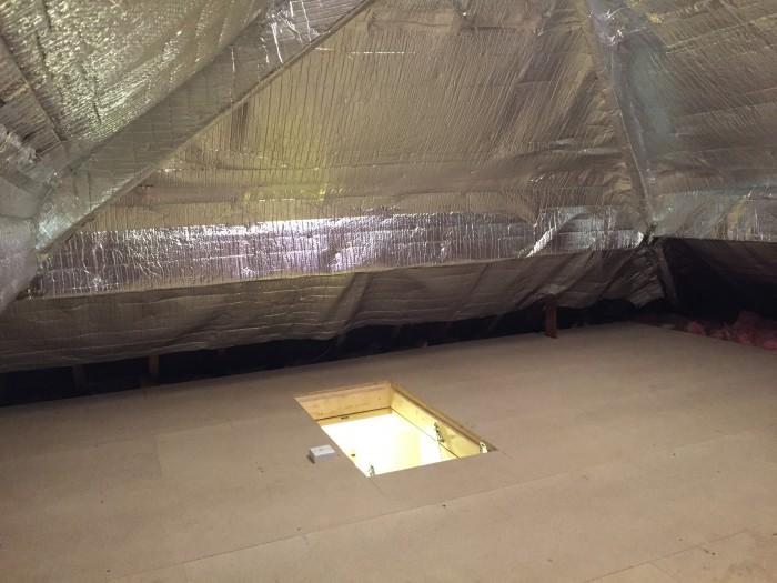 Liverpool loft storage