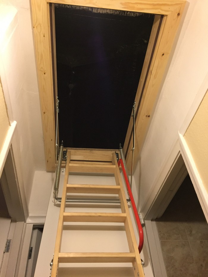 Loft Ladder Timber in Liverpool
