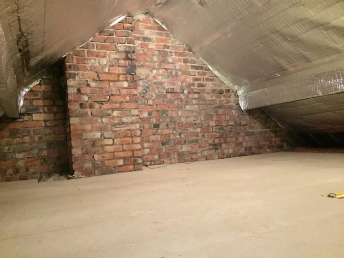 Loft storage in Liverpool