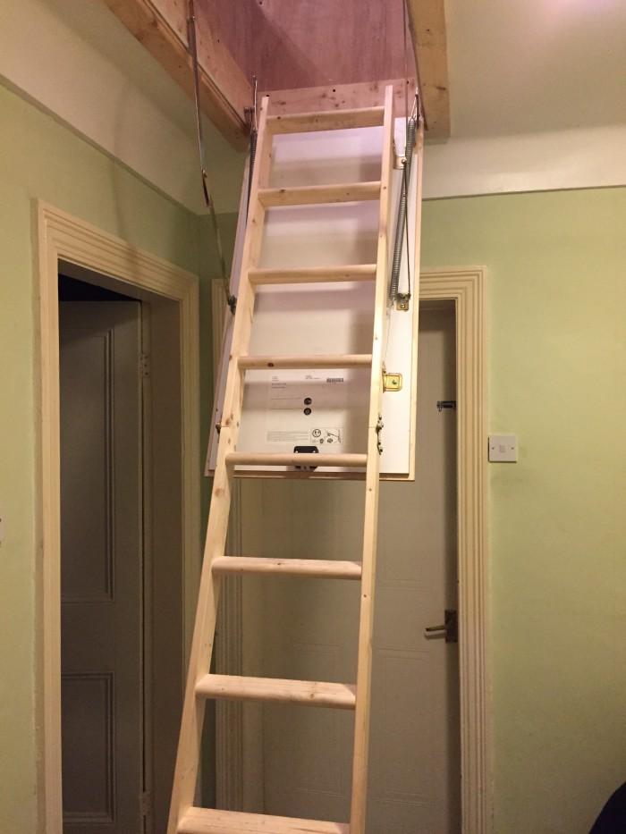 Waterloo loft ladder