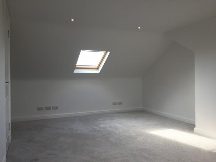 loft inside completed