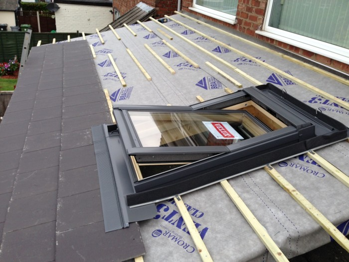 Flat To Pitched Roof Conversion In Litherland Utilise