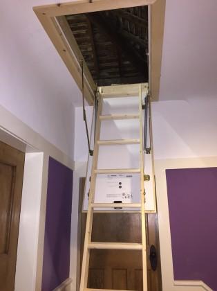 wirral loft ladder