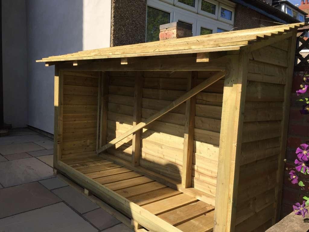 Wood Amp Log Store Utilise Lofts Amp Build